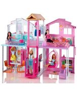 Barbie Malibu Townhouse dukkehus - 3 etasjer