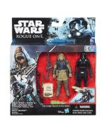 Star Wars Rogue One deluxe figur-pakke - Rebel Commondo Pao og Imperial Death Trooper