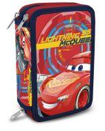 Disney Cars 3 trippelt pennal - med innhold