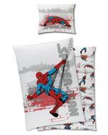 Spider-Man sengesett - 140 x 200 cm SPIDERMAN-bed-1-02-1