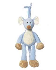 Teddykompaniet Diinglisar spilledåse 25 cm - mus