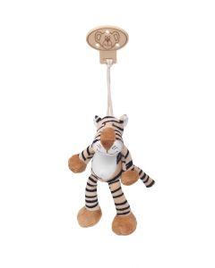 Teddykompaniet Diinglisar Wild clip 16 cm - tiger
