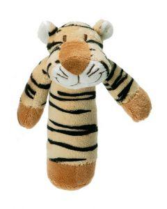 Teddykompaniet Diinglisar rangle 15 cm - tiger