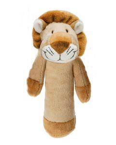 Teddykompaniet Diinglisar rangle 15 cm - løve