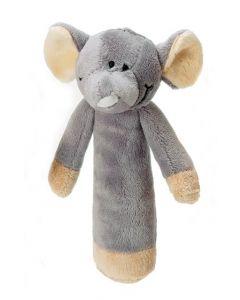 Teddykompaniet Diinglisar rangle 15 cm - elefant