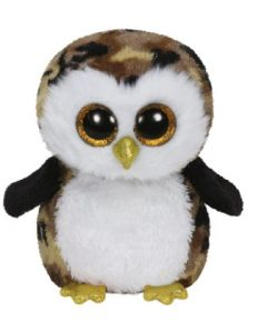 Ty Owliver camouflage owl medium - ca 22 cm