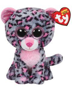 Ty Tasha pink/grey leopard regular - 15 cm