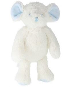 Tinka mus - blå 25 cm