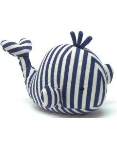 Jellycat hval - 28 cm