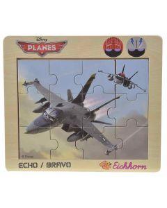 Disney Planes Echo Bravo puslespill i tre - 12 biter