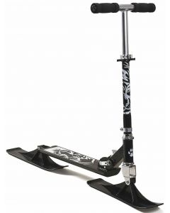 Snowtiger skiscooter - sort