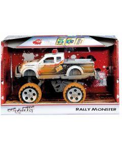 Rally Monster - 15 cm - sort og hvit