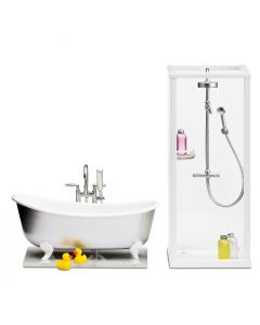Lundby Småland dusj og badekar