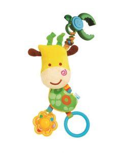 Bkids rangle giraff - festes på vogn