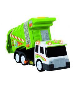Søppelbil - 32 cm - med luftpumpefunksjon