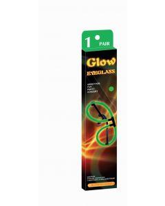 Glow in the dark briller - grønn