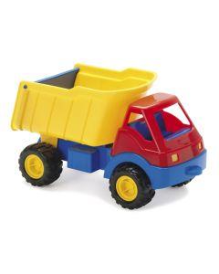 Dantoy lastebil med gummihjul