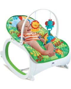 Fitch Baby baby bouncer - grønn