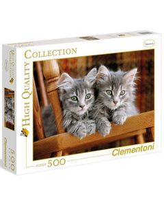 Clementoni high quality collection Kittens - 500 biter