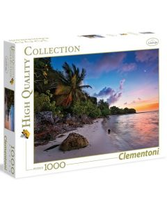 Clementoni high quality collection Tropical Idyll - 1000 biter