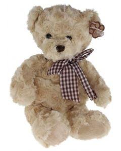 Tinka teddy med sløyfe - 35 cm