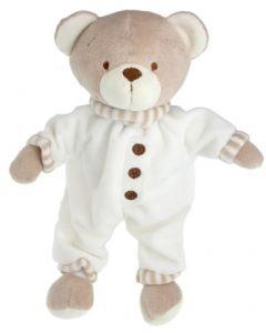 Tinka bamse med pysj krem - 25 cm
