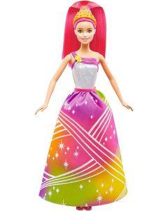 Barbie Rainbow Princess dukke med lys og lyd