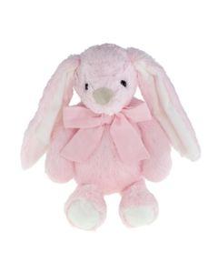 Tinka kanin 30 cm med sløyfe rosa