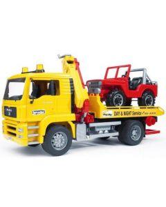 Bruder MAN TGA Breakdown-truck med firhjuling - 02750