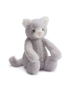 Jellycat katt plysj grå 18cm