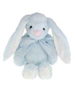 Tinka kanin med sløyfe 30cm - lys blå