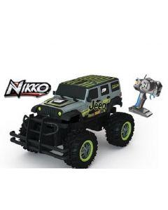 Nikko RC bil Scale Jeep Wrangler 1:16 - 27 MHz