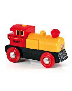 BRIO Lokomotiv gult og rødt