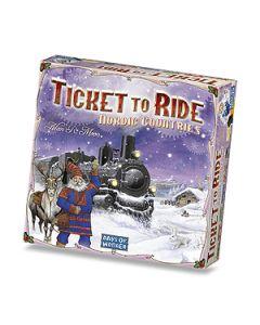 Ticket to Ride Nordic Scandinavia