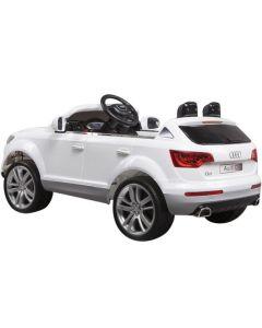 Audi Q7 12V - elbil for barn - hvit