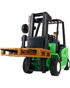 Cargo Master truck - grønn - 19 cm