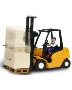Cargo Master truck - gul - 19 cm