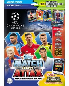 Match Attax Champions League 2016/2017 - Starter Pack
