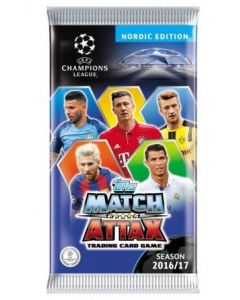Match Attax Champions League 2016/2017 - fotballkort