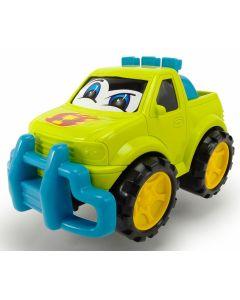 Dickie Toys happy runner 27 cm - grønn pick up