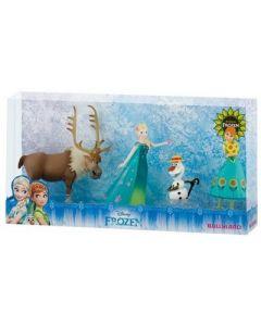 Bullyland Disney Frozen Fever Deluxe figursett -  4 figurer