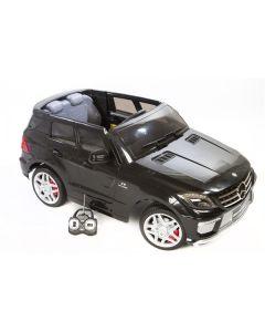 Mercedes ML63 12V - sort - med RC styring