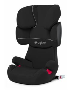 Cybex Solution X-Fix silver line - Pure Black