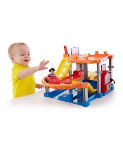 Fisher Price Little People rolling ramps