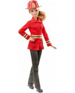 Barbie career everyday dukke - brannkvinne