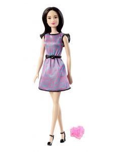 Barbie-dukke med ring - mørkhåret