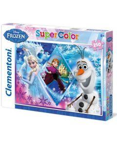 Clementoni Supercolor puslespill Disney Frozen - 250 biter