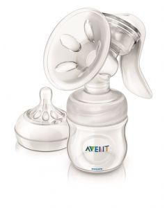 Philips AVENT Natural manuell Brystpumpe