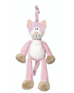 Teddykompaniet Diinglisar spilledåse 25 cm - katt