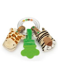 Teddykompaniet Diinglisar Wild, Ringrangle, Sjiraff & Tiger 17cm